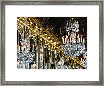 Hall Of Mirrors Framed Print by Clare Mulholland