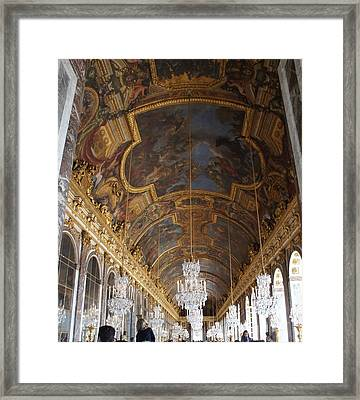 Hall Of Mirrorsversailles Framed Print