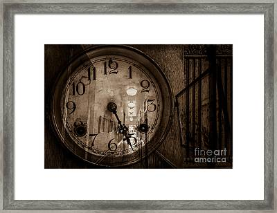 Hall Of Time Framed Print by Pam Vick