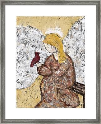 Halle Framed Print