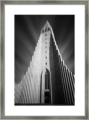 Hallgrimskirkja 1 Framed Print by Dave Bowman