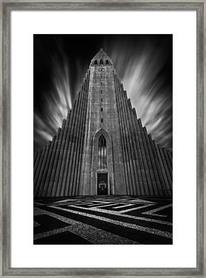 Hallgrimskirkja Framed Print