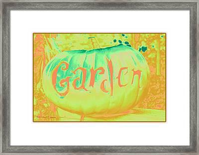 Halloween Art Framed Print by Sonali Gangane