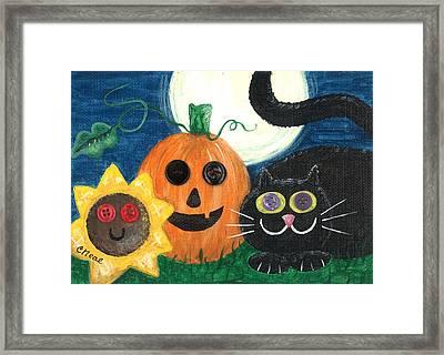 Halloween Fun Framed Print