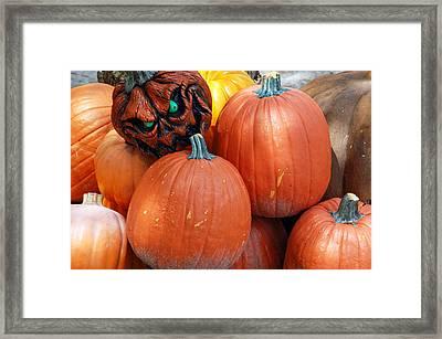 Halloween Goblin Framed Print