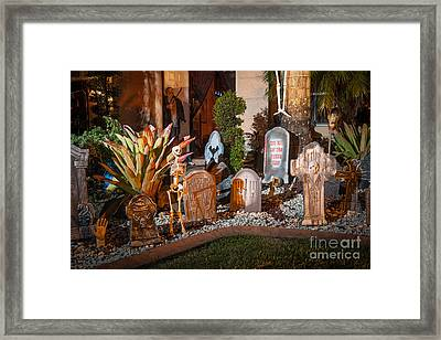 Halloween Framed Print by Juan Silva
