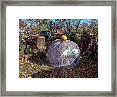 Halloween Junk Framed Print
