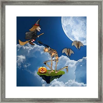 Halloween Framed Print by Marvin Blaine
