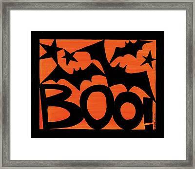 Halloween Silhouette IIi Framed Print by Anne Tavoletti