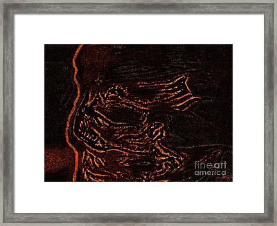 Halloween Specter Black By Jrr Framed Print