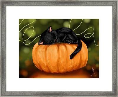 Halloween Framed Print by Veronica Minozzi