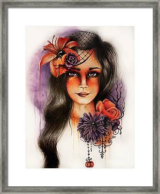 Hallows Eva Framed Print by Sheena Pike
