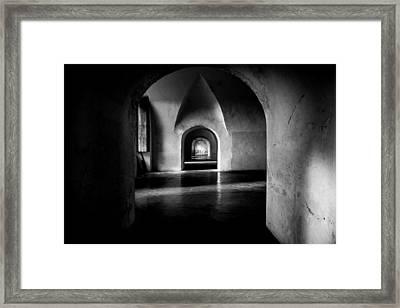 Halls Framed Print