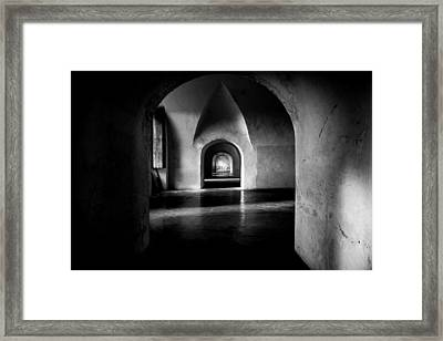 Halls Framed Print by Kristopher Schoenleber