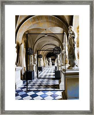 Halls Of Versailles Paris Framed Print