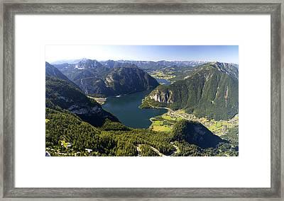 Hallstatt Lake Austria Framed Print