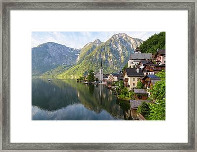 Hallstatt, Salzkammergut, Upper Framed Print