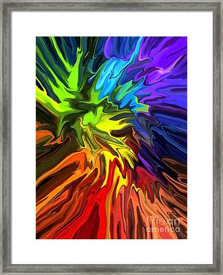 Hallucination Framed Print by Chris Butler