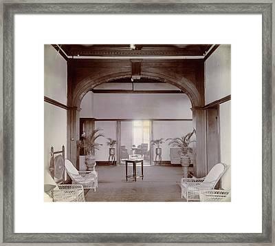 Hallway Framed Print by British Library