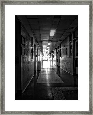 Hallway Framed Print by H James Hoff