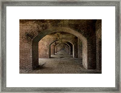 Hallways Framed Print