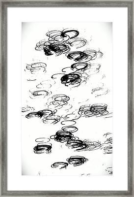 Halo Framed Print by Jacqueline McReynolds