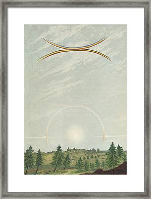 Halo Framed Print by King's College London