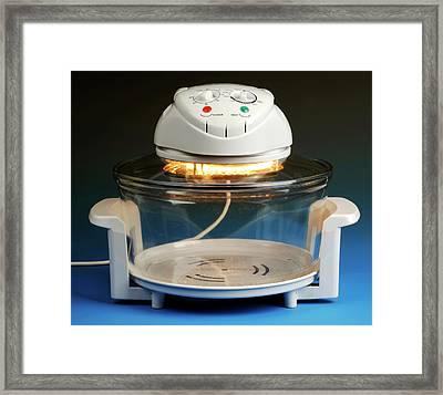 Halogen Cooker Framed Print