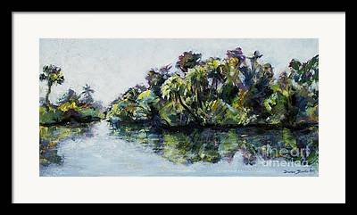 St. Lucie County Paintings Framed Prints