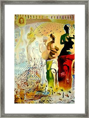 Halucinogenic Toreador By Salvador Dali Framed Print by Henryk Gorecki