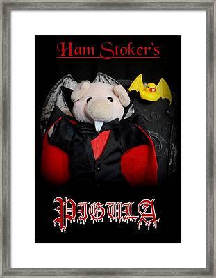 Ham Stoker's Pigula Framed Print