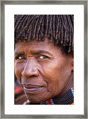 Hamar Tribe Framed Print