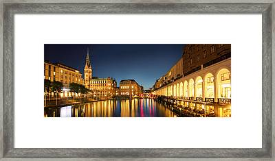 Hamburg City Framed Print