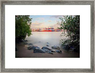 Hamburg Dreams Framed Print by Marc Huebner