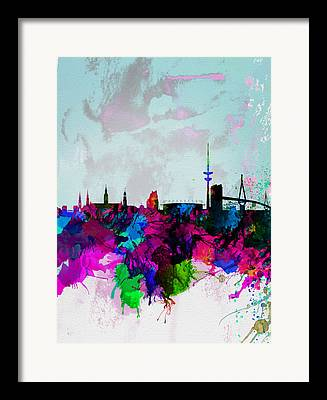 Hamburg Framed Prints