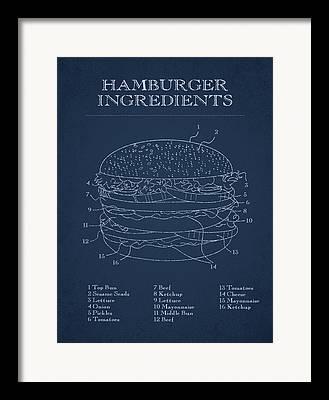 Burger King Framed Prints