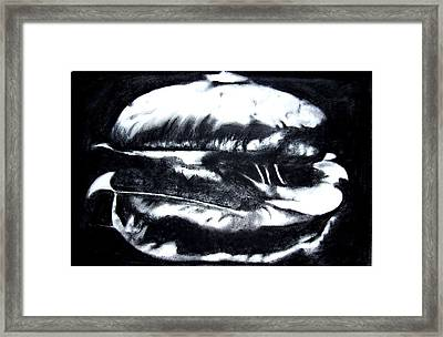 Hamburger Framed Print