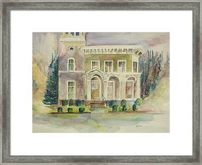 Hamden House Framed Print