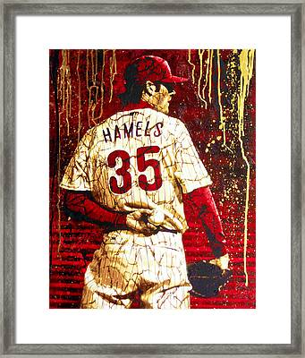 Hamels - The Executioner Framed Print by Bobby Zeik