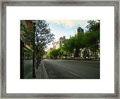 Hamilton At Dawn Framed Print