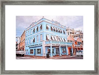 Hamilton Bermuda Framed Print