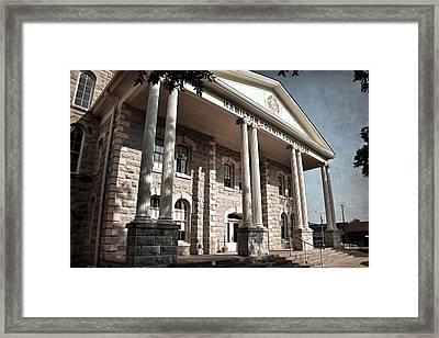 Hamilton County Courthouse Framed Print