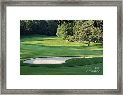 Hamilton Golf And Country Club Framed Print