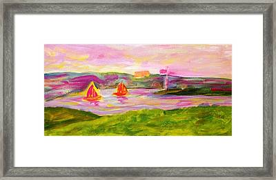 Hamilton Harbour Framed Print by Rashne Baetz
