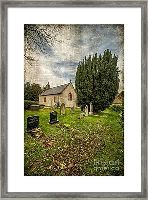 Hamlet Church Framed Print by Adrian Evans