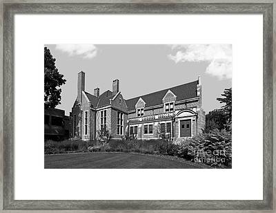Hamline University Giddens Alumni Center Framed Print by University Icons