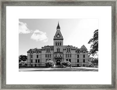 Hamline University Old Main Framed Print by University Icons