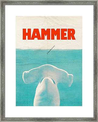 Hammer Framed Print by Eric Fan