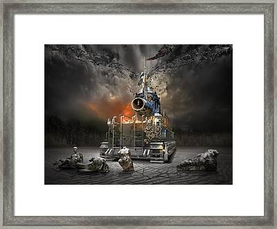 Hammer Of God Framed Print by George Grie