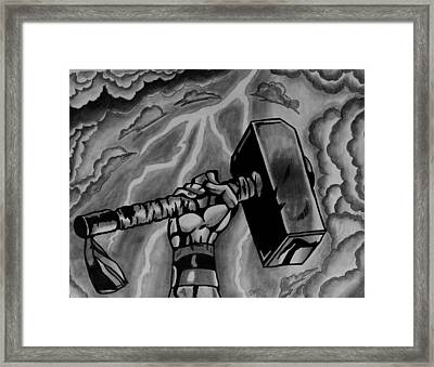 Hammer Of Thor Framed Print by Jeremy Moore